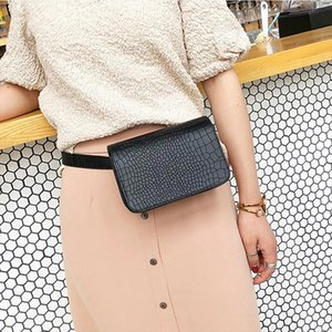 Alligator Pattern Waist Packs Women Leather PU Adjustable Belt Bag Waist Pack Wallet Phone Pouch Ladies Salesperson Work Bags