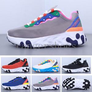 2020 Undercover React Element 87 Net Yarn Kids Running Shoes Undercover x React Element 55 Epic React Kids Sports Shoes S6KK2