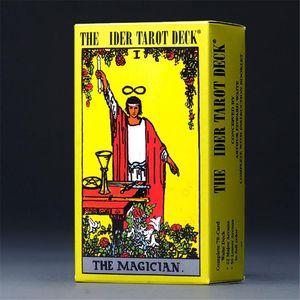 10 PZ 6 Stili Tarots Witch Rider Smith Waite Shadowsapes Tarot Deck Board Cartole di gioco con scatola colorata Versione inglese