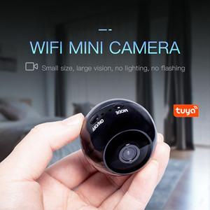 1pc alto Qulity más nuevo mini cámara del IP de WIFI 1080P Smart Home Noche de cámaras de seguridad