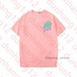 20ss Summer New 2020 Womens Designers Mens T Shirts Flower Tshirts Fashion Rose Embroidery Short Sleeve Lady Tees Casual Clothes