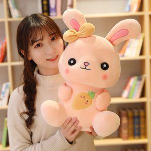 1pcs 22 35 50cm Plush toy rabbit Cuddle Pillow cute radish rabbit doll birthday gift children girls bed doll super soft