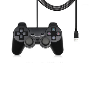 Wired USB PC Controller For PC Computer Laptop For WinXP Win7 Win8 Win10 Vista Black Gamepad Joystick1