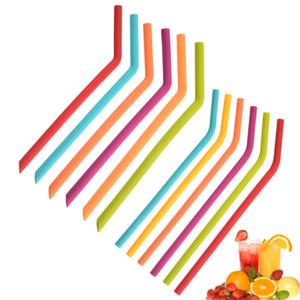 Eco Friendly Silicone Straw Children Drinking Straws Multi-functional Straw
