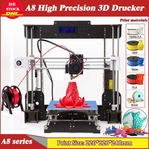 A8 3D Printer High Precision Reprap i3 5mm Resume Power Failure Printing for modeling & toys USA Stock1