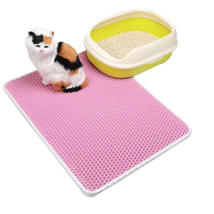 Pet Litter Cat Cat Clean Pook Products Cats Accessure Водонепроницаемый Pet Cat STITTER MAT EVA Двойной слой