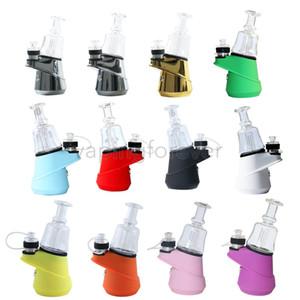 본격적인 녹색 빛도 G9 SOC 온도 제어 왁스 농축기 오일 Enail Dry Herb Vaporizer 2600mAh 유리 물 DAB 조작 Bubbler E 네일 키트