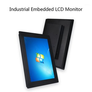 Outdoor Waterproof Lcd no Touch Screen Monitor 14 15.6 17.3 18.5 Inch Industrial Lcd Monitor With Aluminum Steel Frame1