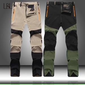 Extérieur Pantalons Quick Dry Hommes cargo militaire Randonnée Pantalons Hommes Jogger Casual Zipper Streetwear Homme Slim Fit sport Bottom 201111