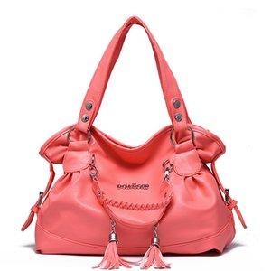 Fashion New Women's Hair Ball Shoulder Bag for Women Top-handle Bag Pu Leather Ladies Messenger Bag High Quality Handbag