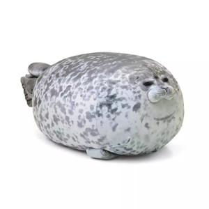 1pc soft 30-80cm Soft Sea Lion Plush Toys Sea World Animal Seal Plush Stuffed Doll Baby Sleeping Pillow Kids Girls Gifts