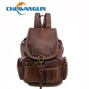 Chuwanglin новых рюкзак женщин старинные дорожные сумки тенденции водонепроницаемый мешок школы случайные женские рюкзаки S1803 C1008