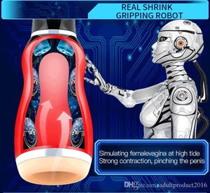 Ankunft !!! Automatische Freies Masturbator Spielzeug Hand Male Masturbators Teleskop Sex New Plhwk