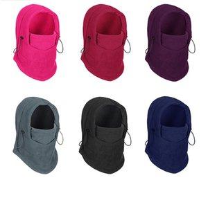 Unisex Sherpa Polar Fleece Winter Hat Multifunction Beanies Tuque Scarf All in 1 Headwear Women Mens Skimasks Warm Trooper Headwear F102103