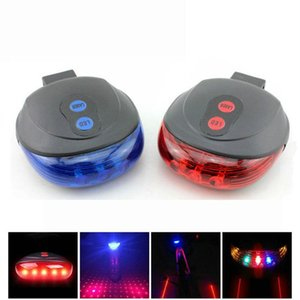 Bicycle Rear Light Lasers Bike LED Lights Tail Light Waterproof Lamp Mountain Cycling Night Taillight Accessories