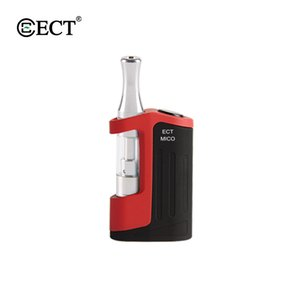 Factory original ECT Mico Vape pen kit 510 thread vape battery box mods with 4*1.2mm intake holes vape Tank