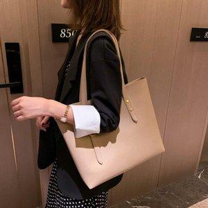2020 Fashion New Women Bag Solid Women's PU Leather Handbags Luxury Ladies Hand Bags Purse Pocket Women Shoulder Bag Big Bags