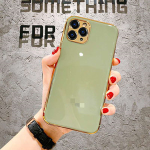 50PCS lot Electroplating Stylish Back Cover Type Protective Case For Iphone 12 X Xr 11 Xs Max 7 8 Plus Mobile Phone Case