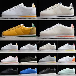 Classic Cortez Leather 2021 Nuevos zapatos deportivos de alta calidad Nylon Royal Pink negro blanco blanco zapatillas ligeras 36-44