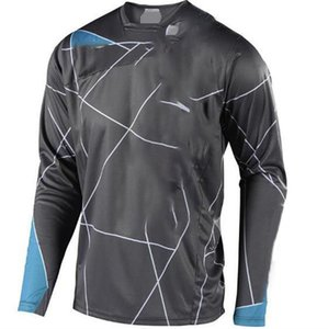 Camicia da corsa a caldo in moto da campagna da corsa in camicia da corsa a caldo Velocità per biciclette Velocità per biciclette in poliestere Asciugatura rapida Maniche lunghe