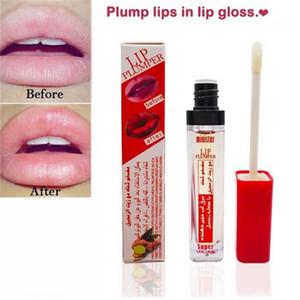 MINISTAR 브랜드 플럼 그 섹시한 입술 광택 모이스춰 라이징 립 플럼 퍼 립 증강 3D 슈퍼 볼륨 반짝이 입술 색조 유약 메이크업 0223