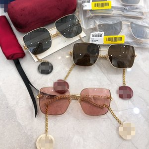 G ailesi Xiao Jingteng Ni aynı Püskül Earrings güneş gözlüğü Moda Star net kırmızı gg0724