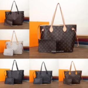 2020 En kaliteli Paris tarzı ünlü ler tasarımcı çanta L çiçek Bayanlar çanta cüzdan Ücretsiz hava posta ile Moda kadın dükkanı torbaları üst seviye