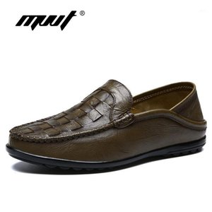 MVVT Brand Genuine Leather Shoes Men Oxfords Shoes Formal Shoes Quality Weave Leather Men Dress Flats Wedding1