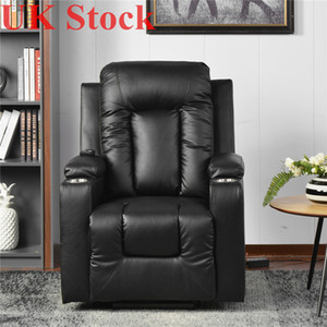 UK Stock Electric Power Lift Recliner Chair Sofa for Elderly Faux Leather Living Room Lounge Massage Sofa Fast Shipping PP193509AAA
