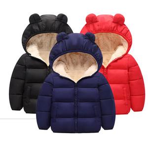 Baby Girls Jacket 2020 Autumn Winter Jacket For Girls Coat Kids Warm Hooded Outerwear Coat For Boys Jacket Coat Children Clothes LJ201202