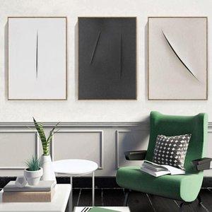 Cartel blanco y negro Arte Moderno Imprimir Sala de estar nórdica Pósteres Pósteres Rasguños abstractos Pintura de lienzo Picturas minimalistas Decoración