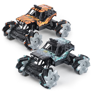 Drift Nitro Rc Car 4WD Sand Grass Racing Drifting 1:18 Scale Off Road Trucks Hight Speed Remote Control Cars Toy 201218