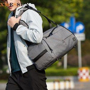 XMessun Fitness Bag 2021 ФСАХИОН Многофункциональный Новый Обучение Открытый Путешествия Спорт для тренажерный зал Сухие мокрые сумки Разделить мешки Duffel QDRFV