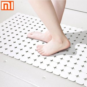 Xiaomi Youpin Qualitell Bathroom Shower Mat Suction Cup Anti Slip Bath Mats Safety Mat Massage Foot Pad Foldable Washroom Carpet