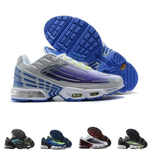 Mens Tn Plus 3 III Running Shoes Red Grey Triple Black White Purple Nebula Women Classic Trainer Tuned Air Sneakers