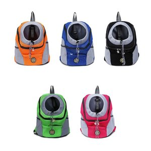 Breathable Mesh Backpack Chest Bag for Puppies Small Dog Cat Outdoor Travel Casual Pet Carrier Hand Bag