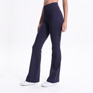 Outbits Йоги оптом Женские брюки Сексуальный рост тренажерный зал Уютный материал Эластичные Спорт Широкая Нога Спандекс работает Tight1