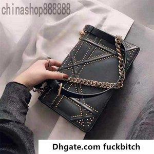 2020 designer handbags purses women black Hollow smooth shield bag classic casual shoulder bags crossbody ba