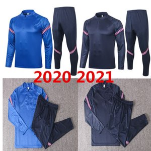 Las últimas 20 21 British Football Sportswear 20 21 Fútbol Jersey Traje de entrenamiento para hombres Tamaño uniforme S-XXL