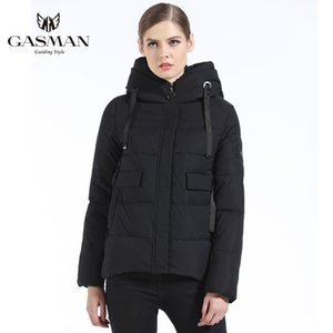GASMAN 2019 new ladies fashion coat Slim winter jacket women outerwear short jacket female padded parka women's overcoat1