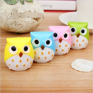 1pc Hot Selling Funny Lovely New High Quality Owl Pencil Sharpener School Stationary Home Decoration Free Shipping 206 J2