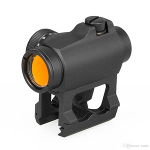 PPT Hunting 1x Red Dot Scope with Riser Mount Black Color for Outdoor Hunting Free Shipping CL2-0106B