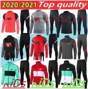 20 21 Crianças Futebol Tracksuit Treinamento de Futebol Terno Sobrevetimento 2020 Crianças Futebol Tracksuit Set Chandal Jogging