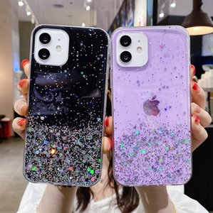 Shockproof Glitter Phone Case For Samsung Galaxy S20 FE S20 Ultra Note 20Ultra A42 A71 A51 5G A12 A02 A41 A31 A21s A21 A11 A01
