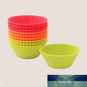 Wholesale- 6pcs Cupcake Liners Mold Muffin Round Silicone Cup Cake Tool Bakeware Baking Pastry Tools Kitchen Gadgets
