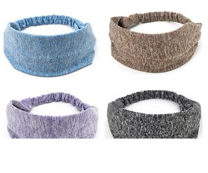 hot Unisex Sports Stretch Elastic Yoga Sweatband Sports Hair bands Running Working Outdoor Gym sweatband Hair bands accessaries