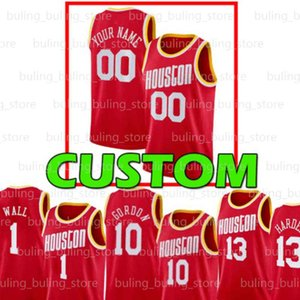 Eric 10 Gordon Jersey Victor 7 Oladipo Christian 35 Wood Personalizzato Houston