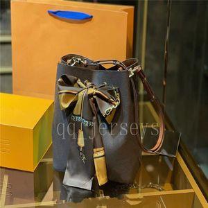 عالية الجودة الفاخرة مصمم المرأة دلو حقائب الكتف escale neonoe حقيبة crossbody حقائب جلد طبيعي قابل للتعديل حزام موضة جديدة