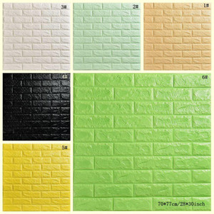Creative 3D Stereo Waterproof Wallpaper Stone Brick Background Wall Stickers Wall Paper Living Room Hotel Study Wallcovering DBC DH1157-1