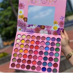 63 Color Eyeshadow Palette Pressed Glitter Shimmer Matte Green Blue Eye Shadow Neon Metallic Makeup Cosmetics